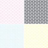 Uppsättning av sömlös geometrisk textur Arkivbild