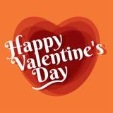 Uppsättning av 22 symboler i stilmonolinen för lyckliga valentin dag Vec Arkivfoto