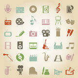 Konst icon3 Arkivfoto