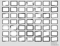 Uppsättning av tomma ramar Vektor EPS 10 Arkivfoto