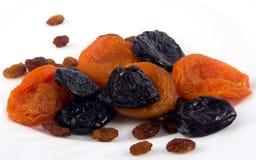 Uppsättning av torkat - frukt Royaltyfria Bilder