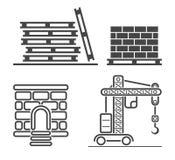 Uppsättning för översiktsrengöringsduksymboler royaltyfri illustrationer