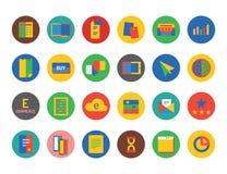 Uppsättning för affärslogosymboler Pengar teknologi, bank Arkivbilder