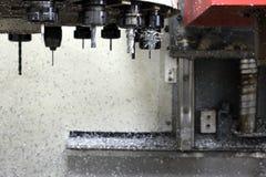 Uppsättning för CNC-maskinhjälpmedel Royaltyfri Foto