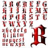 Uppsättning för design för abcalfabet special Royaltyfri Bild