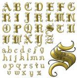 Uppsättning för design för abcalfabet special Royaltyfri Foto