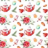 Uppsättning för glad jul och för lyckligt nytt år royaltyfri illustrationer