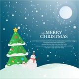 Uppsättning för julsammansättningstema stock illustrationer