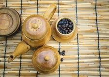 Uppsättning för kaffekopp royaltyfri bild