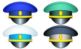 Uppsättning för tjänste- lock royaltyfri illustrationer