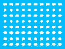 Uppsättning för vektoranförandebubbla Royaltyfri Foto