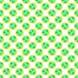 Uppsättningen av den färgrika tecknade filmen bär frukt citronen seamless färgrik modell Royaltyfri Foto