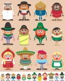 Nationalitiesdel 1 Arkivbilder