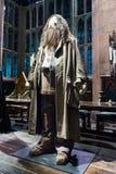 Uppsättningen av den stora Hallen som Hogwarts, LEAVESDEN, UK Fotografering för Bildbyråer