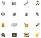 Tjänste- symbolsuppsättning för bil. Del 2 stock illustrationer