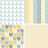 Uppsättningen av fyra grå färger gulnar sparremodeller och Arkivbilder