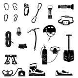 Uppsättningen av lagret, shoppar, den mini- gallerian Lagra framdelar, lägenhetstil vektor illustrationer