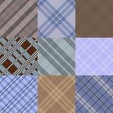 Uppsättningen av mönstrar i diagonal cell Royaltyfria Bilder