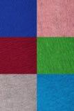 Uppsättningen av färgrikt pappers- mönstrar Royaltyfria Bilder