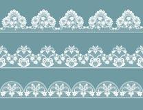 Uppsättningen av snör åt gränser vektor illustrationer