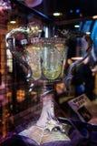 Uppsättningen av stöttor från Harry Potter filmer, LEAVESDEN, UK Royaltyfria Foton