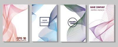 Uppsättningen för minimumräkning Framtiden av den geometriska designen Abstrakt ingrepp 3D Vektor Eps10 royaltyfri illustrationer