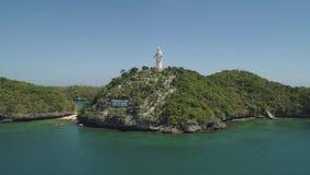 Upps?ttning av ?ar i havet philippines arkivfilmer