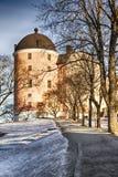 Uppsala castle Stock Images
