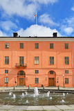Uppsala Castle in Sweden Royalty Free Stock Photography
