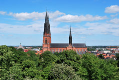 Uppsala Cathedral Stock Photos