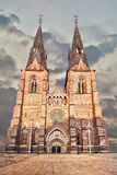Uppsala Cathedral Stock Image