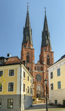 Uppsala Cathedral Royalty Free Stock Images