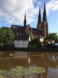 Uppsala Domkyrka Imagen de archivo