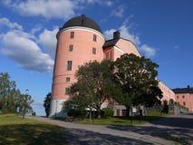 Uppsala kasztel Fotografia Royalty Free
