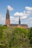Uppsala kościół obraz royalty free