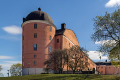 Uppsala slott Royaltyfri Bild