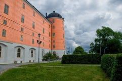 Uppsala slott - Uppsala Slott Arkivfoton