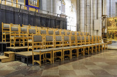UPPSALA,SWEDEN - AUG 23,2014:Cathedral dates back to late 13th c Royalty Free Stock Photography