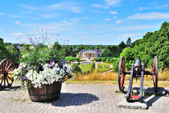 Uppsala, Sweden. View of  Botanic Garden Stock Image