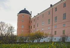Uppsala 16th century castle in autumn Stock Photo