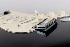 Uppsamlingar för elektrisk gitarr Up tätt arkivbild