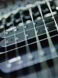 uppsamlingar för gitarr för kabeldetalj elektriska arkivfoton