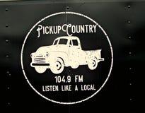 Uppsamlingsland 104 Logo för radiostation 9FM Royaltyfri Bild