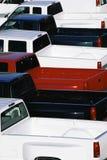 Uppsamlingslastbilar Royaltyfri Bild
