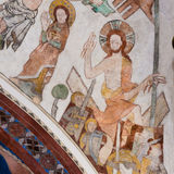 Uppståndelse av Jesus från gravvalvet Fotografering för Bildbyråer