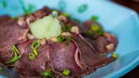 Uppståndelse Fried With Meat Beef royaltyfri fotografi