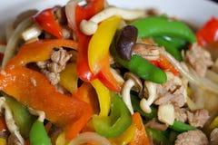Uppståndelse Fried Vegetables Arkivfoton