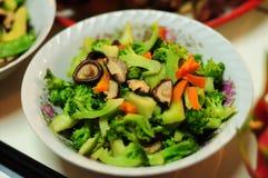 Uppståndelse stekt blandad grönsakmaträtt Arkivfoton