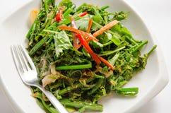 Uppståndelse stekt grönsak Royaltyfri Fotografi