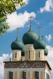 Uppståndelsedomkyrka av Tutaev Royaltyfri Bild
